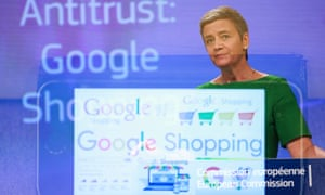 Google is facing a €2.4bn fine from EU over anti-trust practices.