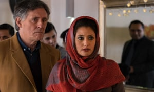 Unconvincing … Gabriel Byrne and Sybilla Deen in Lies We Tell