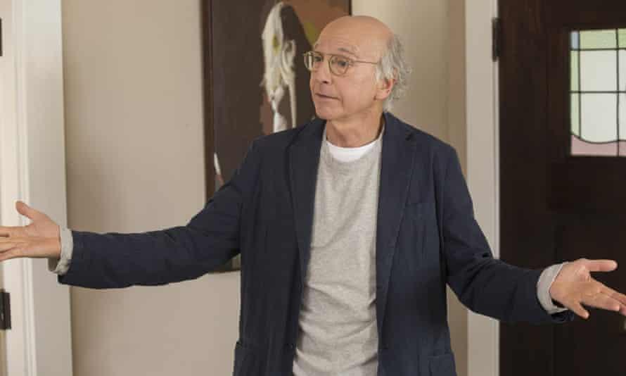Larry David wears James Perse.