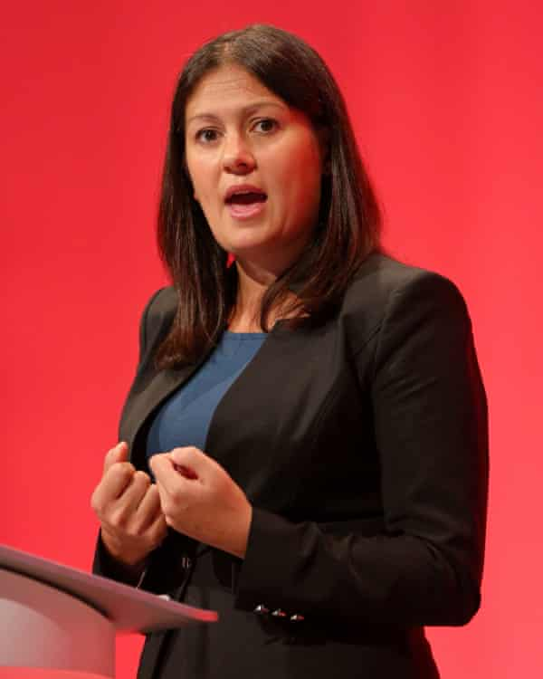 Lisa Nandy at the Labour party annual conference 2015.