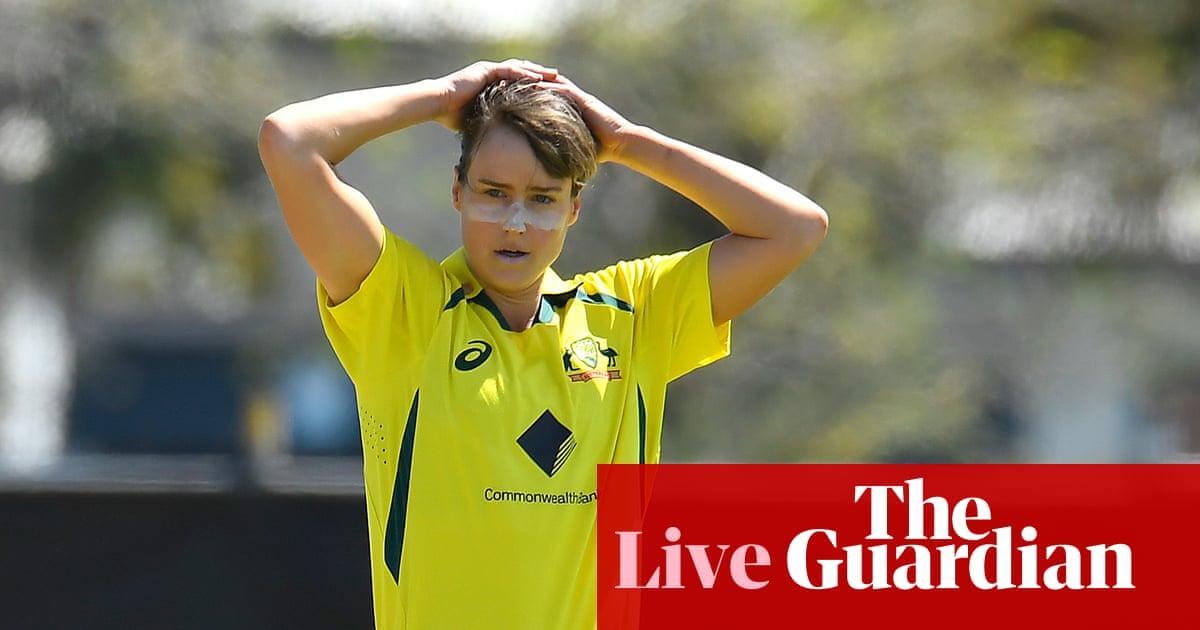 Australia v India: first women's one-day international – live!