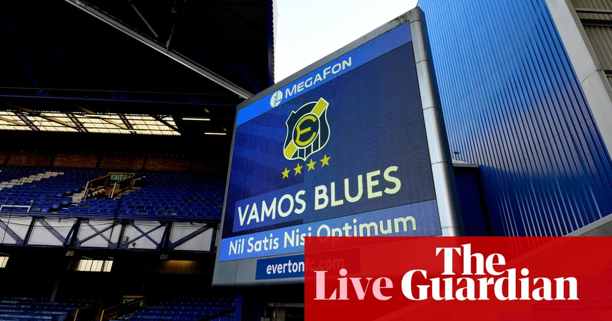 Everton v Liverpool: Premier League – live!