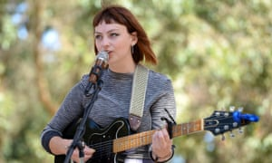Hardly Strictly Bluegrass 2015SAN FRANCISCO, CA - OCTOBER 04: Singer Angel Olsen performs onstage at Golden Gate Park on October 4, 2015 in San Francisco, California. (Photo by Scott Dudelson/Getty Images)