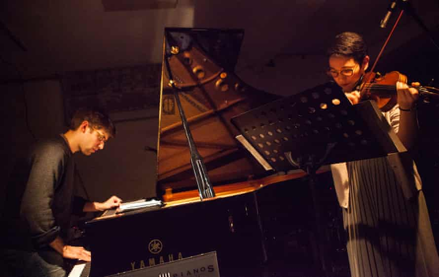 'Sound and silence': Joseph Houston and Aisha Orazbayeva at Cafe Oto.