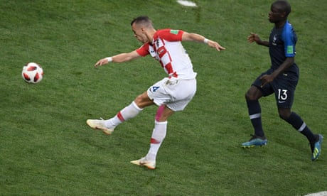 Croatia punched above their weight but could not beat fate and France | David Hytner