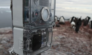 Antipoaching device, Instant Detect, in use in Antarctica.