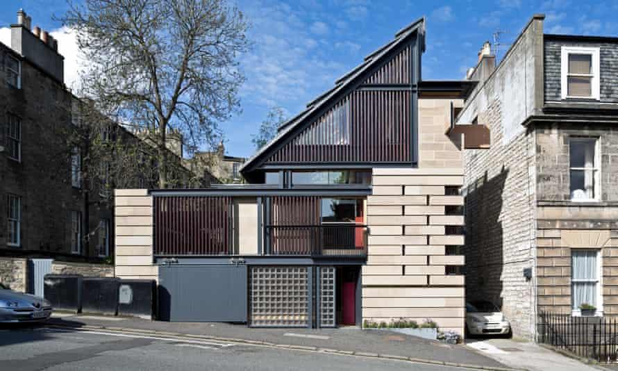 A busy bricolage … the Murphy House on Hart Street, Edinburgh.