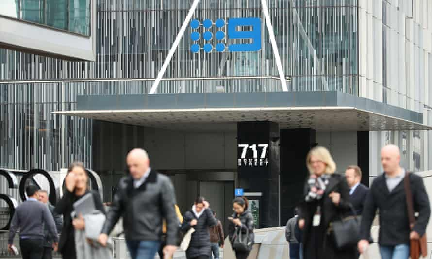 The Nine logo