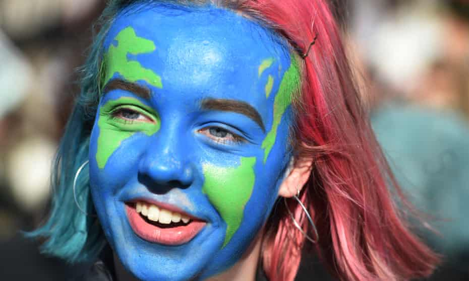 Youth climate striker