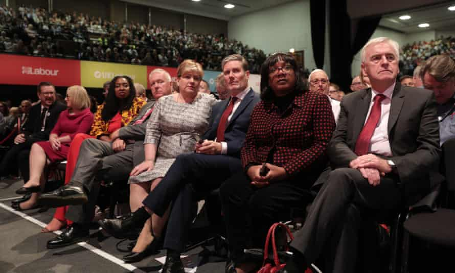 Shadow cabinet at Labour conference