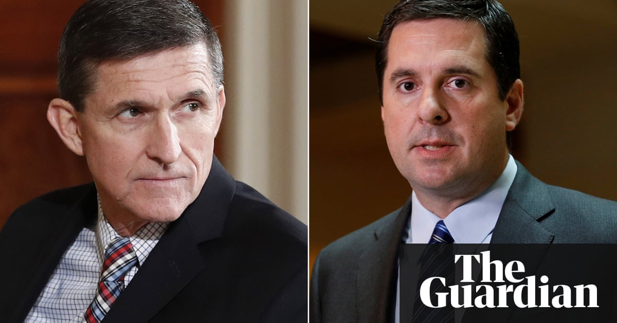 Image result for photos of Cohen-Watnick and general flynn