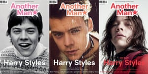 Harry Styles on the cover of Another Man