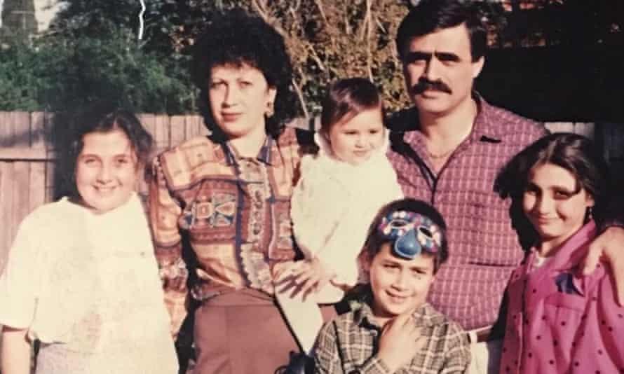 Parents Sayed and Najwa Rizk, and children Nicole, Souad, Malinda and Kaisar