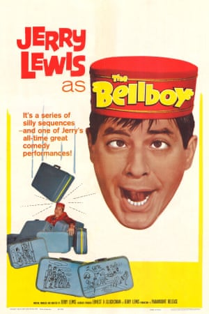 A poster for The Bellboy, 1960