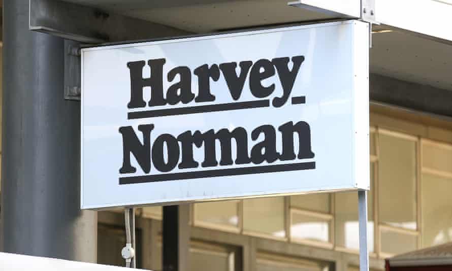 Harvey Norman sign