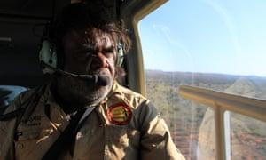 Indigenous ranger Patrick Reid