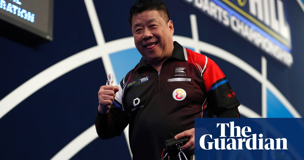 One for the old guys: 66-year-old Paul Lim pulls off PDC world darts upset