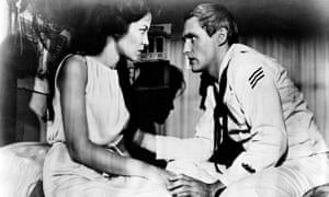 'Naively adolescent' … Linda Lawson and Dennis Hopper in the 1961 film Night Tide – streaming soon at byNWR.com.