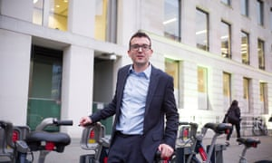 Will Norman is London's first walking and cycling commissioner.