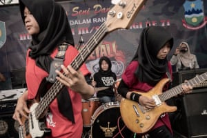 'Of course Islam and metal can match. Why not?' said vocalist Firdda Kurnia.