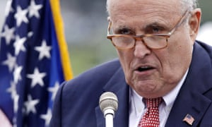 Rudy Giuliani<br>FILE - This Aug. 1, 2018, file photo shows Rudy Giuliani, an attorney for President Donald Trump, in Portsmouth, N.H. As Giuliani was pushing Ukrainian officials in the spring of 2019 to investigate one of Donald Trump's main political rivals, a group of individuals with ties to the president and his personal lawyer were also active in the former Soviet Republic. (AP Photo/Charles Krupa, File)