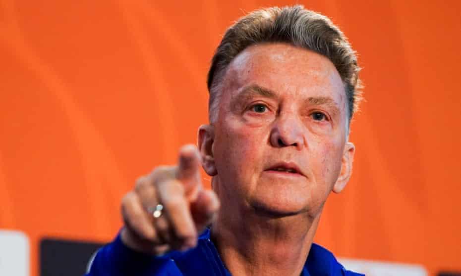 The Netherlands coach Louis van Gaal