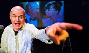 Hilarious, old-fashioned standup: Dave Johns performs his act, I, Fillum Star.