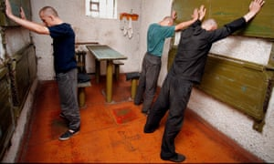 Inmates of a Belarusian prison. A new report details the dire condition in which men and women are kept on death row.