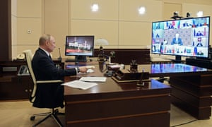 Stop Waiting For Putin Russian President Takes Backseat In Crisis World News The Guardian