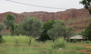 Jarlmadangah, one of the Western Australian remote Indigenous communities in danger of closing.