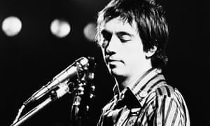 Pete Shelley of Buzzcocks performs at The Roundhouse, London, 28 May 1978.