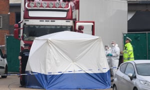 39 Vietnamese people were found dead in the back of a lorry in Essex on 23 October.