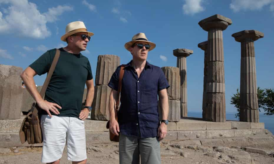 Steve Coogan (left) and Rob Brydon  in The Trip To Greece