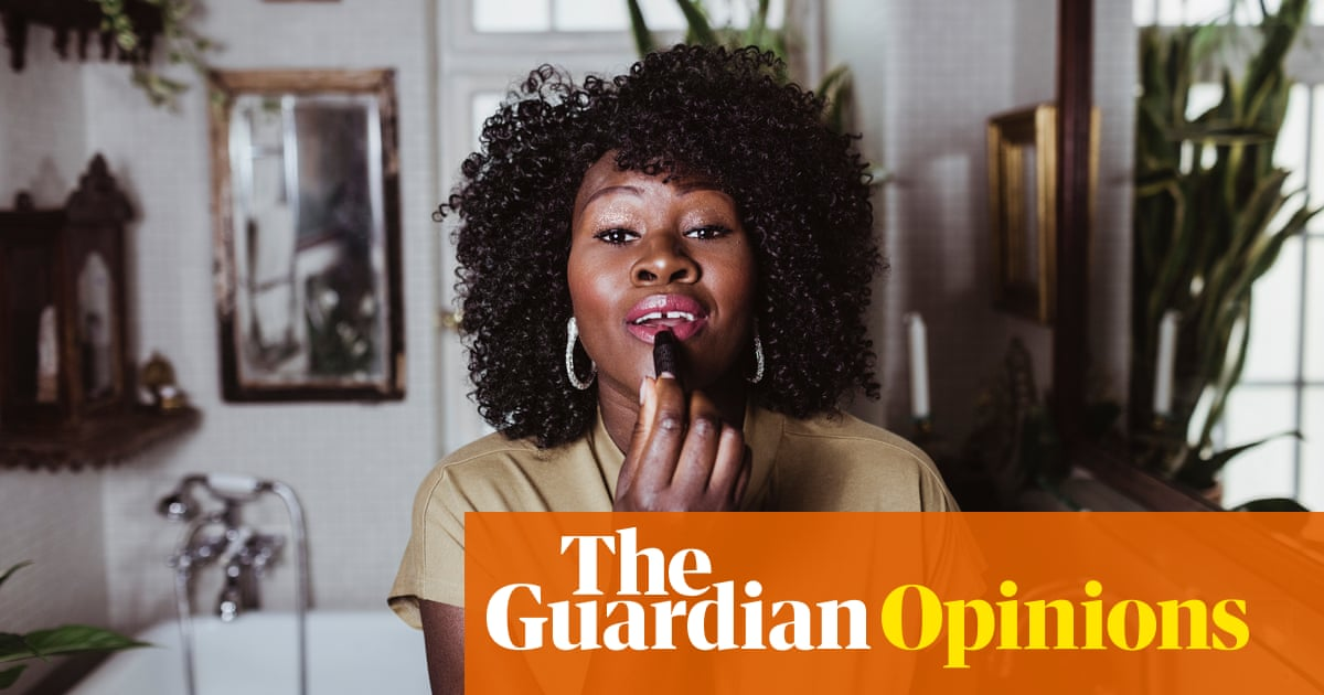Make up isn't frivolous – it allows us to rebuild ourselves
