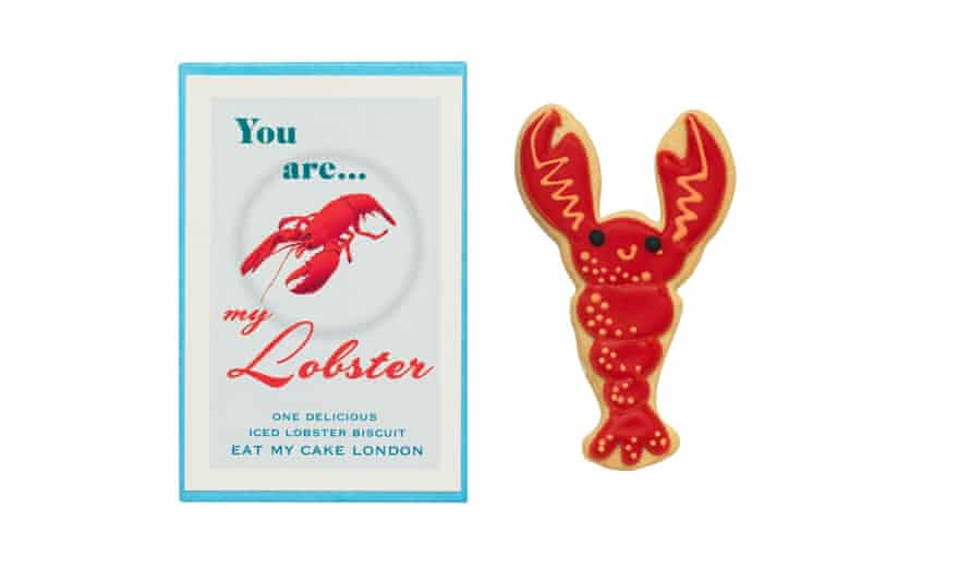 Not on the High Street lobster biscuit