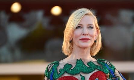 Australian actress Cate Blanchett, president of the 'Venezia 77' arrives for the awarding ceremony of the 77th annual Venice International Film Festival, in Venice, Italy, 12 September 2020.