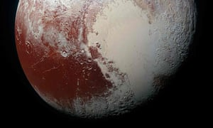Sputnik Planum on the dwarf planet Pluto is seen in an undated image from NASA's New Horizons spacecraftA heart shaped region named Sputnik Planum is seen in enhanced view of the dwarf planet Pluto in an undated image from NASA's New Horizons spacecraft. REUTERS/NASA/JHUAPL/SwRI/Handout via Reuters THIS IMAGE HAS BEEN SUPPLIED BY A THIRD PARTY. IT IS DISTRIBUTED, EXACTLY AS RECEIVED BY REUTERS, AS A SERVICE TO CLIENTS. FOR EDITORIAL USE ONLY. NOT FOR SALE FOR MARKETING OR ADVERTISING CAMPAIGNS