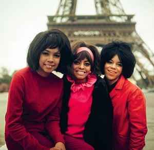 Florence, Diane and Mary on tour in Paris in 1965.