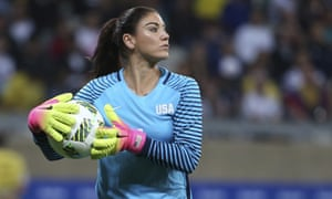 Hope Solo has discussed the idea of playing overseas