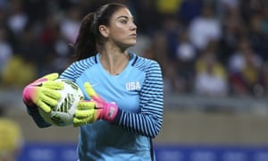 Hope Solo landed a lengthy suspension following her comments at the Olympics