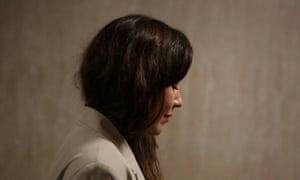 Miriam Haley arrives to testify against Harvey Weinstein during Weinstein's sexual assault trial in New York, 27 January 2020.