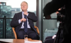 Boris Johnson appears on the BBC's Andrew Marr show on Sunday.