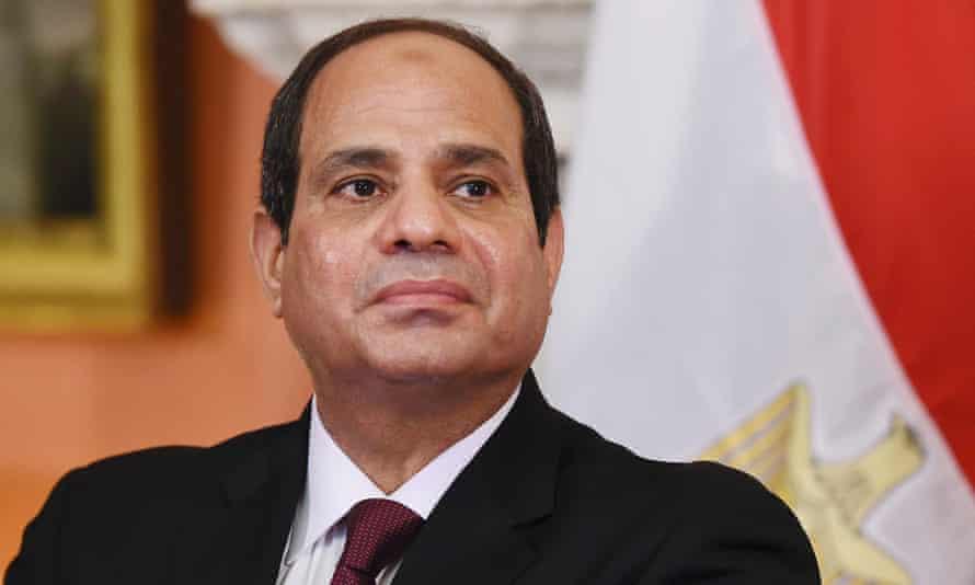 Egypt's president Abdel Fatah al-Sisi