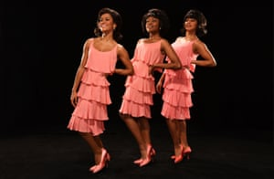Motown the Musical: Lucy St Louis, Cherelle Williams and Tanya Nicole Edwards as the Supremes.