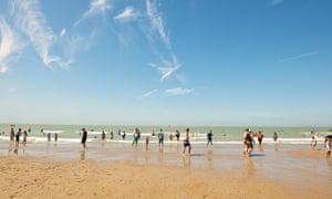 Ostend beach, Ostend, Belgium.