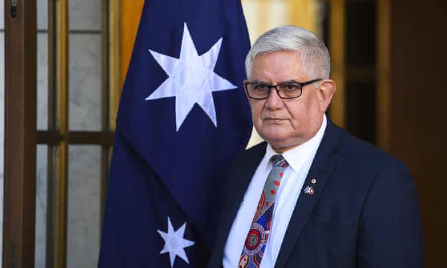 Australian minister for Indigenous Australians Ken Wyatt