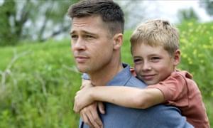 Bradd Pitt in The Tree of Life.