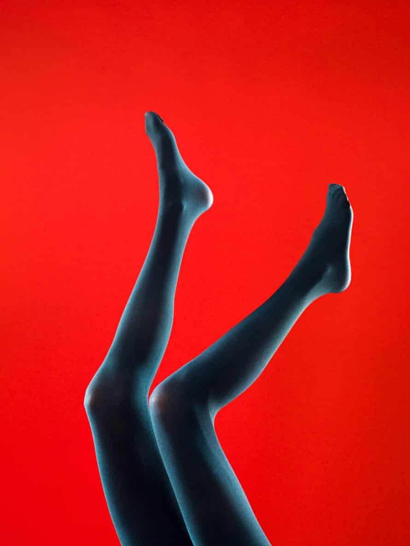 Black tights … an intricate fashion minefield. Photograph: Alamy