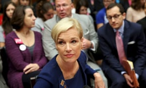 Planned Parenthood Federation president Richards waits to testify before House Committee on Oversight and Government Reform in Washington<br>Planned Parenthood Federation president Cecile Richards (C) waits to testify before the House Committee on Oversight and Government Reform on Capitol Hill in Washington September 29, 2015. REUTERS/Gary Cameron
