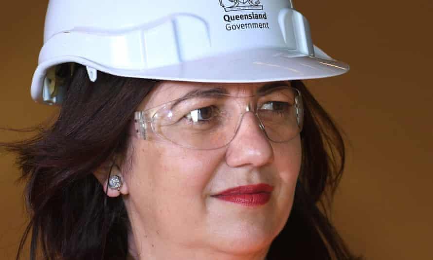Annastacia Palaszczuk on a visit to Port of Brisbane